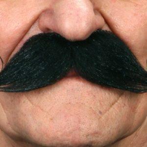 Wild West Mustache - Black