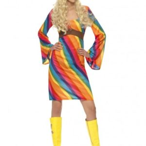 Rainbow hippie | Costume Hire Brisbane | Camelot Costumes