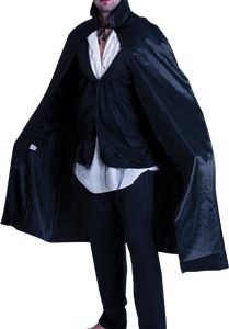 Short Black Cape | Costume Hire Brisbane | Camelot Costumes