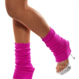Pink - 80's Leg Warmers | Costume Hire Brisbane | Camelot Costumes