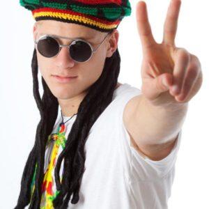Rasta Wig + Cap