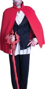 Short Red Cape | Costume Hire Brisbane | Camelot Costumes