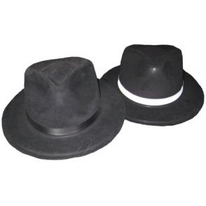 Gangster Fedoras | Costume Hire Brisbane | Camelot Costumes