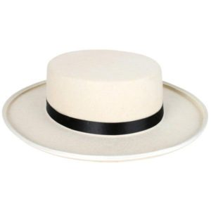 Boater Hat - 1920's | Costume Hire Brisbane | Camelot Costumes