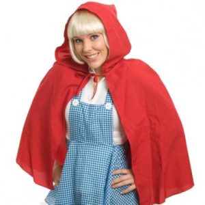 Red Riding Hooded Cape | Costume Hire Brisbane | Camelot Costumes