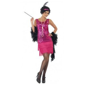 Flapper Dress - red | Costume Hire Brisbane | Camelot Costumes