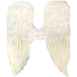 Angel Wings- Long - White