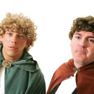 Hobbit (Sam, Froddo)