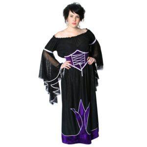 Medieval Black/Purple Lady