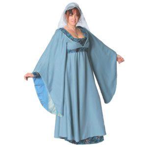 Medieval Grey blue Lady