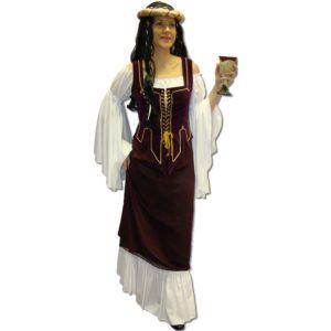 Medieval – Maroon – white