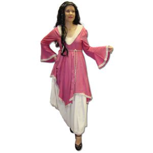 Medieval Pink White Lady