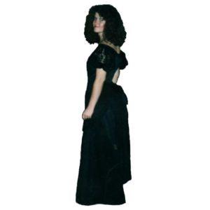 Bustle Dress – Black