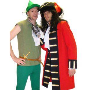 Peter Pan + Captain Hook