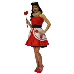 Alice in Wonderland – Queen of Hearts | Costume Hire Brisbane | Camelot Costumes