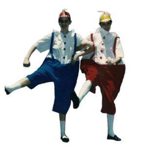 Alice in Wonderland – Tweedledum and Tweedledee | Costume Hire Brisbane | Camelot Costumes