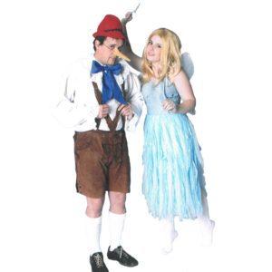 Pinocchio / Blue Fairy | Costume Hire Brisbane | Camelot Costumes