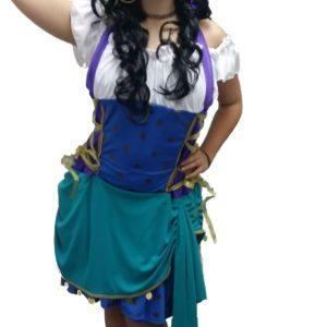 Esmeralda | Costume Hire Brisbane | Camelot Costumes