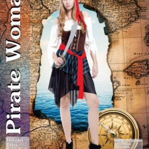 Pirate Woman | Costume Hire Brisbane | Camelot Costumes