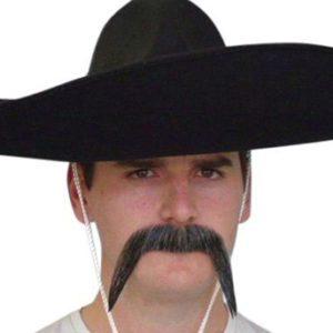 Grey Mexican Mustache