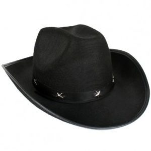Black Cowboy Hat | Costume Hire Brisbane | Camelot Costumes