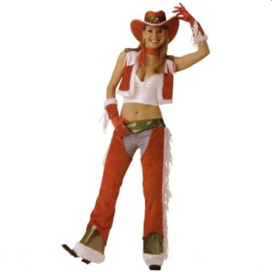 Christmas Cowgirl | Costume Hire Brisbane | Camelot Costumes