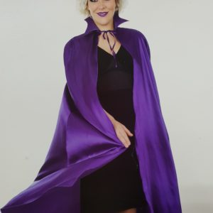 Purple cape | Costume Hire Brisbane | Camelot Costumes