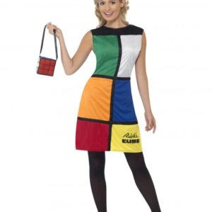 Rubiks Cube dress | Costume Hire Brisbane | Camelot Costumes