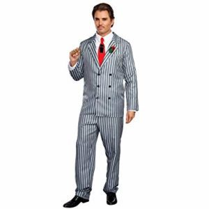 Pinstripe Suit | Costume Hire Brisbane | Camelot Costumes