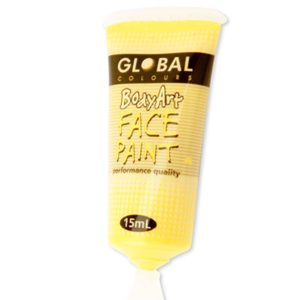 Yellow Liquid Facepaint 15ML | Costume Hire Brisbane | Camelot Costumes