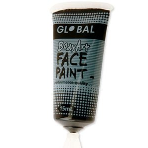 Black Liquid Facepaint 15ML | Costume Hire Brisbane | Camelot Costumes