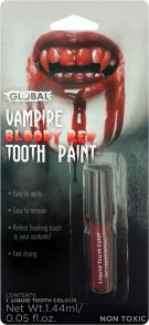 Blood teeth paint | Costume Hire Brisbane | Camelot Costumes
