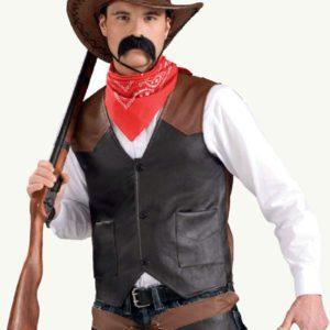 Cowboy Vest | Costume Hire Brisbane | Camelot Costumes