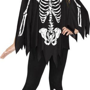 White Bones Poncho | Costume Hire Brisbane | Camelot Costumes