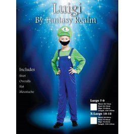 Luigi | Costume Hire Brisbane | Camelot Costumes