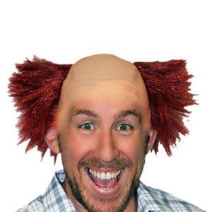 Deluxe Character Wig - Clown