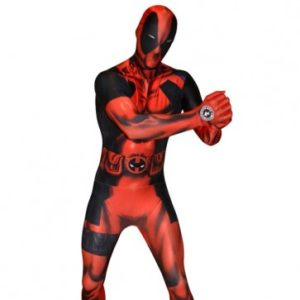 Deadpool Morphsuit | Costume Hire Brisbane | Camelot Costumes