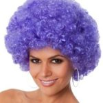 Purple Afro | Costume Hire Brisbane | Camelot Costumes