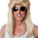 Blonde Mudflap Mullet | Costume Hire Brisbane | Camelot Costumes