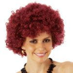 Maroon Afro | Costume Hire Brisbane | Camelot Costumes