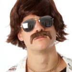 Shaggy Brown w/ Moustache | Costume Hire Brisbane | Camelot Costumes