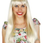 Blonde Straight Fringe | Costume Hire Brisbane | Camelot Costumes